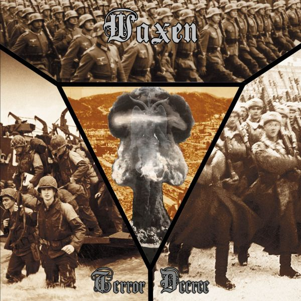 Waxen ‎– Terror Decree - CD