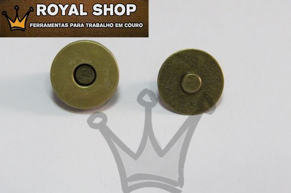 586324d370 Botão Magnético Ouro Velho - TAM Grande - Royal Shop