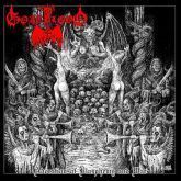 GOATBLOOD - Adoration of Blasphemy and War - LP