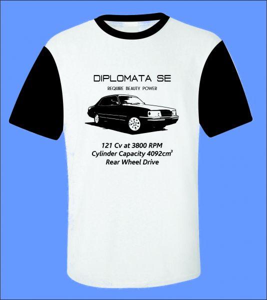582ac754c Camiseta Carro Antigo Diplomata - ROTA RETRÔ 64 Camisetas de Carros ...
