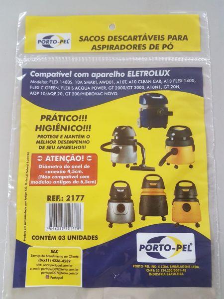 REF:2177  COMPATIVEL ELECTROLUX FLEX - GT 3000 NOVO - A10S - A10T - A10 CLEAN CAR - A13 - A10 N1