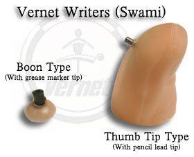 Dedeira para escrever(Thumb Tip Type (Pencil Lead 2mm) #996