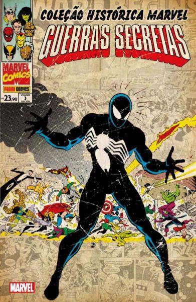 509303 - Coleção Histórica Marvel - Guerras Secretas 03