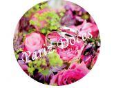 Papel Arroz Flores Redondo 010 1un