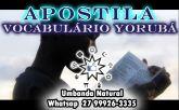 APOSTILA VOCABULÁRIO YORUBÁ SIMPLES