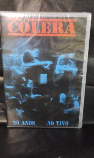 DVD - Cólera - 20 Anos Ao Vivo