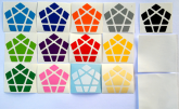 Megaminx Shengshou 12 cores +1