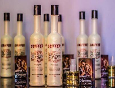 Mascara Argan Hidratação-Kit Coiffer