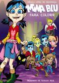 Mina Blue contra o colecionador - Livro de colorir