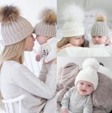 Gorro Crochet Mãe e Filha