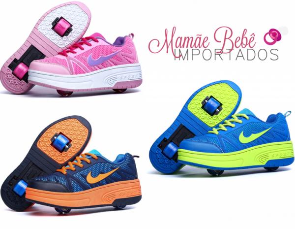4328187ff6 Tênis Rodinha Cod 99 - Mamãe Bebê Importados