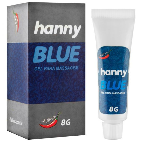 ANESTÉSICO HANNY BLUE 8g