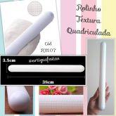 Rolinho Textura Quadriculada