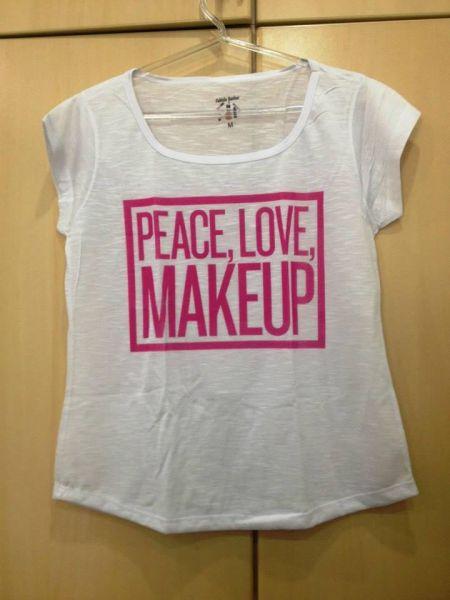 PEACE LOVE MAKEUP - TAMANHO GG