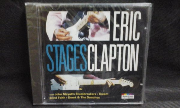 CD - Eric Clapton - Stages