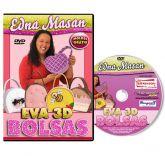 DVD - Bolsas em EVA 3D - Edna Masan