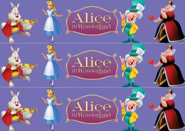 Papel Arroz Alice Faixa Lateral A4 009 1un