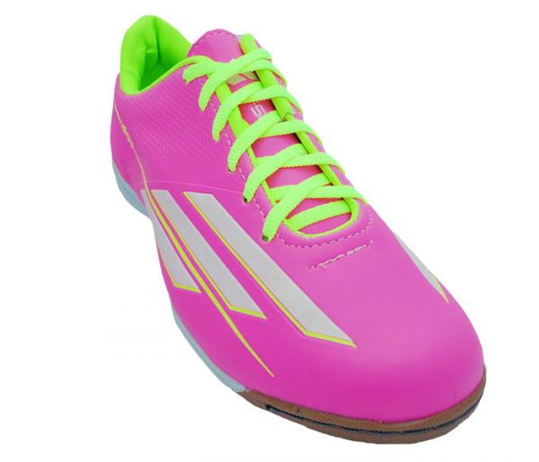 9d90f7b814d2a Chuteira Futsal Adidas Adizero F50 Rosa MOD 11799  1ª linha  - tudo ...