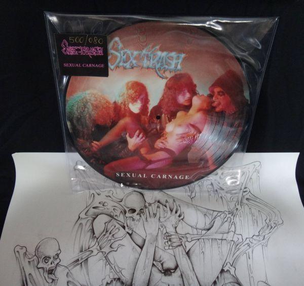 LP 12 - Sextrash – Sexual Carnage (Picture) importado