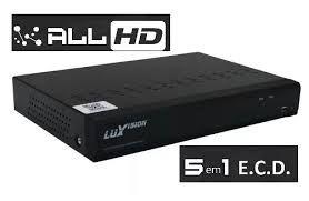 DVR 8 Canais 5x1 Ecd Luxvision
