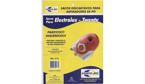 REF:2173 COMPATIVEL ELECTROLUX TWENTY - TRIO - SONIC - ONE - MAX TRIO - GO - INGENIO
