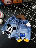 Shorts Jeans Mickey