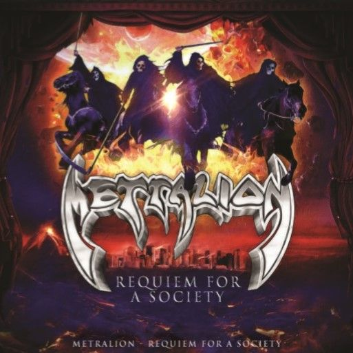 METRALION - Requiem For a Society (CD)