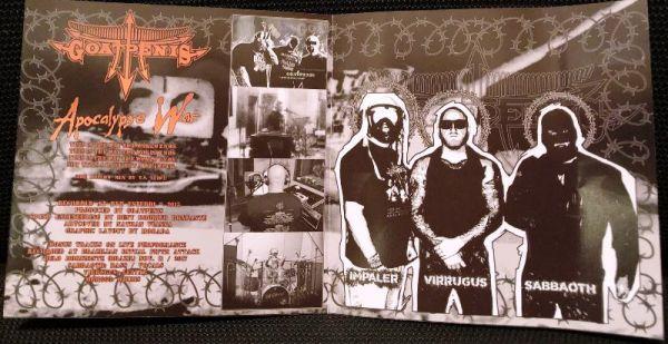 GOATPENIS - Apocalypse War  - CD+DVD