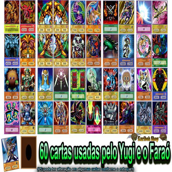 Super deck Yugi 60 cartas Versão Anime