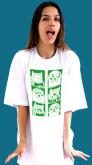 camiseta Hora de Aventura - Finn e Jake retratos