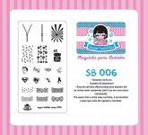 Placa Sugar Bubbles - SB006