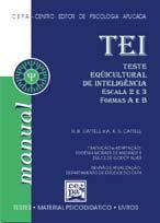 03.08 - TEI - Teste Equicultural de Inteligência - Escalas 2 e 3 - Manual