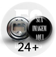 ABRIDOR DE GARRAFAS 5,5 CM - MÍN. 24 PÇS