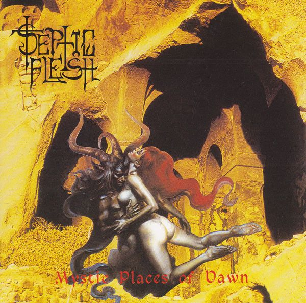 Septic Flesh – Mystic Places Of Dawn - CD