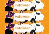 Papel Arroz Halloween Faixa Lateral A4 004 1un
