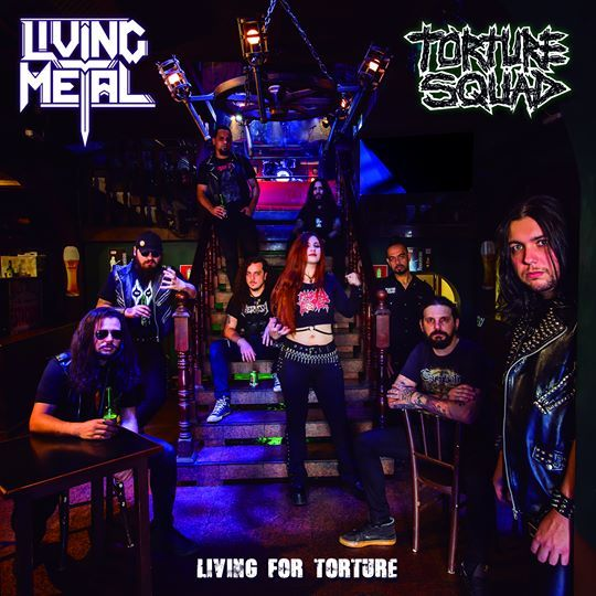 Living for Torture CD split com Living Metal e Torture Squad