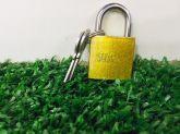 cadeado 25mm com chave