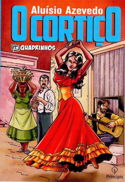 506104 - O Cortiço Em Quadrinhos