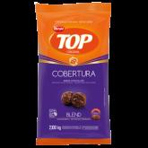 Cobertura em Gotas de Chocolate ao Leite e Meio Amargo Blend Harald Top 2,1kg 1un