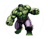 Papel Arroz Hulk Redondo 007 1un