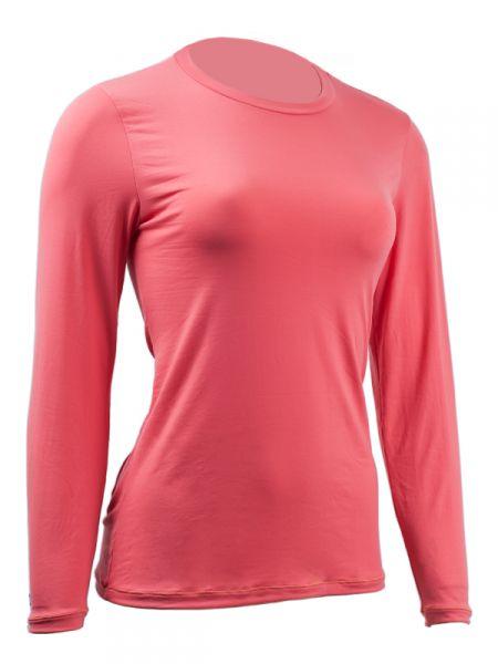 Camiseta Feminina com Proteção Solar UV - Carakol Manga Longa Lisa ... fe3b5de8e2f26