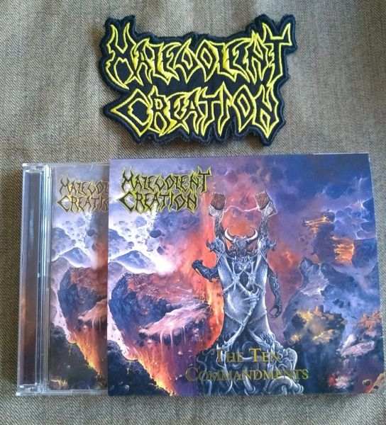 Combo Malevolent Creation CD-duplo + patch bordado