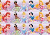 Papel Arroz Princesas Faixa Lateral A4 012 1un
