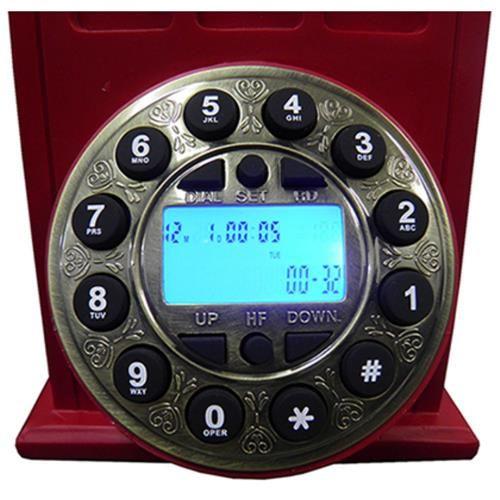 Telefone Cabine Londrina Retrô 33cm