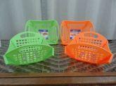 Cestinhas Multiuso De Plástico - Kit Com 4 Unidades