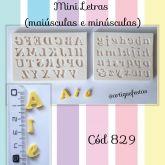 Mini Letras Maiúsculas e Minúsculas