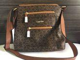 ab97e77b108de Bolsa Calvin Klein All Day - original dos EUA (marrom)