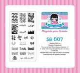 Placa Sugar Bubbles - SB007