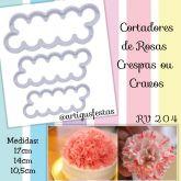 Cortadores de Rosas Crespas ou Cravos