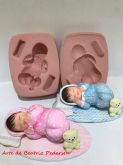 Bebê 3D Bipartido - BL 1012 - 7,5cm